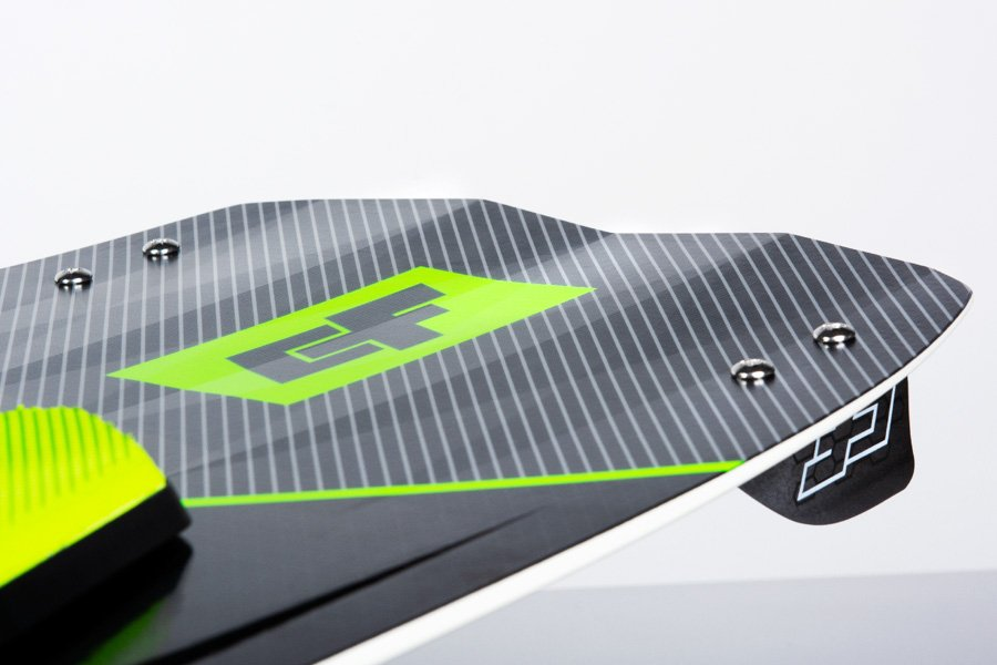 CrazyFly Raptor LTD Kiteboard Double V-Tips