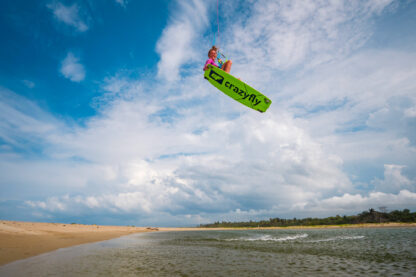 CrazyFly Raptor Kiteboard Action