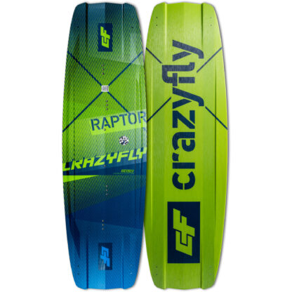 CrazyFly Raptor Kiteboard 2020 Front-Back