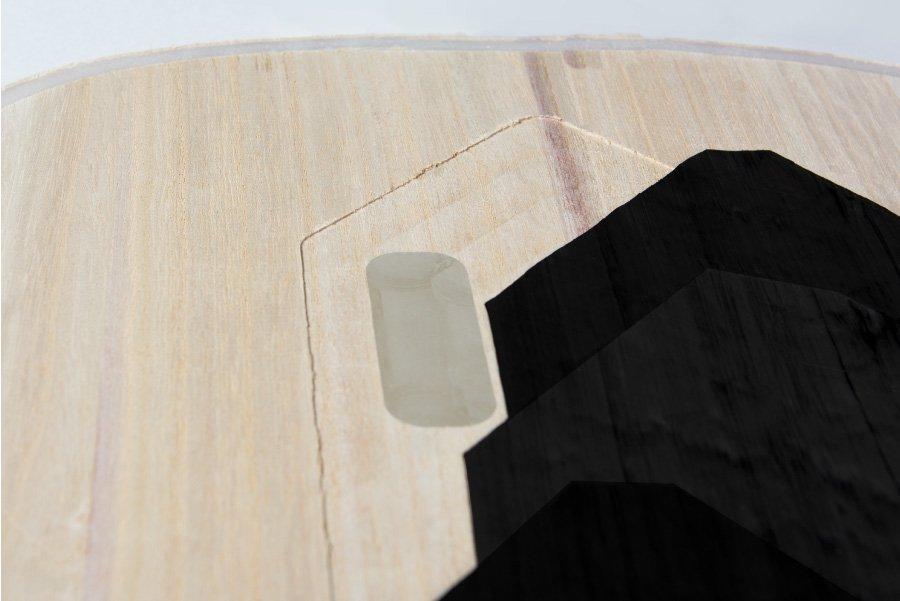 Holzkern mit Carbon-Stringer