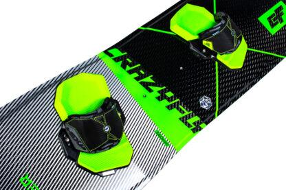CrazFly Slicer 2020 Leichtwind Kiteboard top