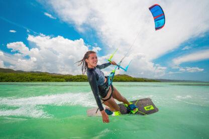 CrazFly Slicer 2020 Leichtwind Kiteboard bottom