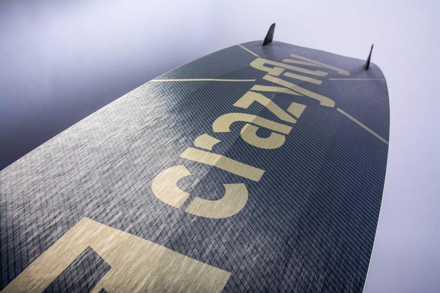 CrazyFly Raptor LTD Kiteboard Double Concave