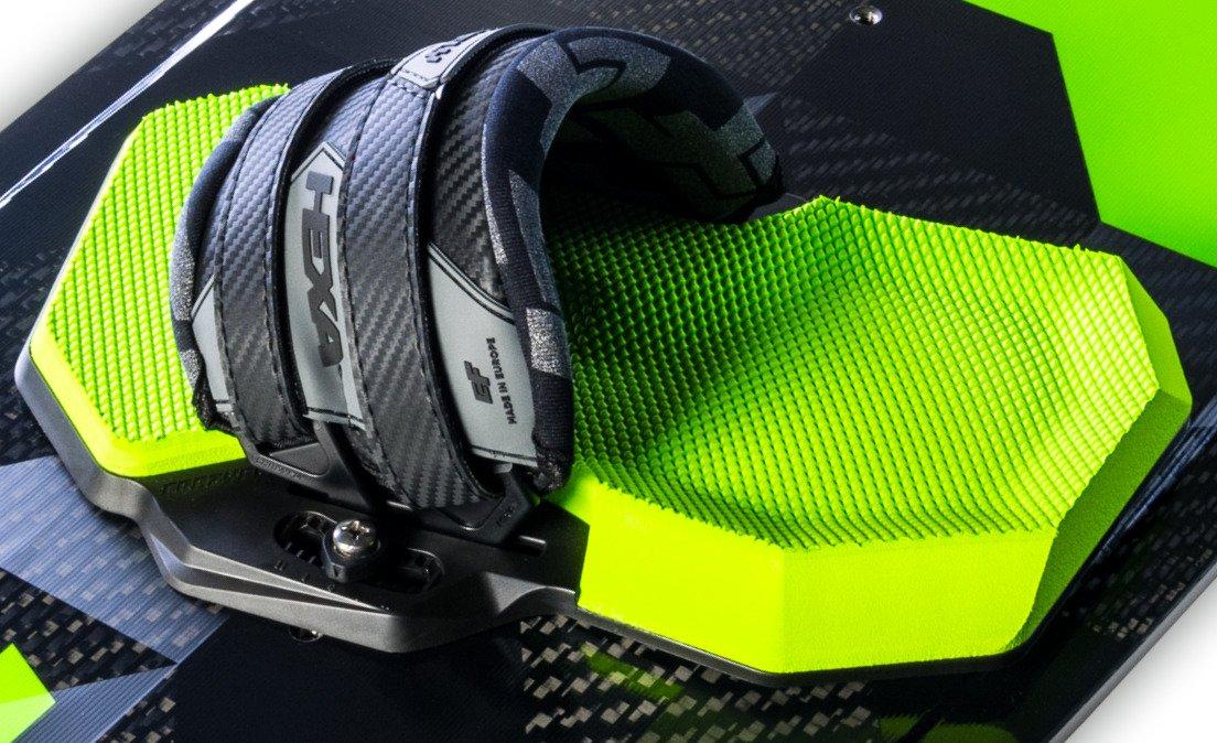 CrazyFly Hexa Neon Kiteboarding Bindung Material