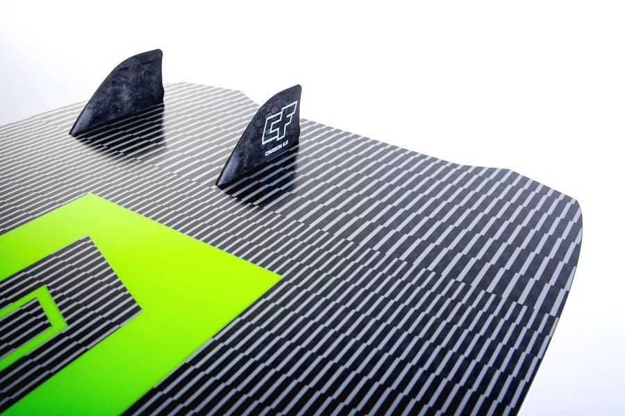 CrazyFly Slicer 2020 asymmetrische Finnenposition