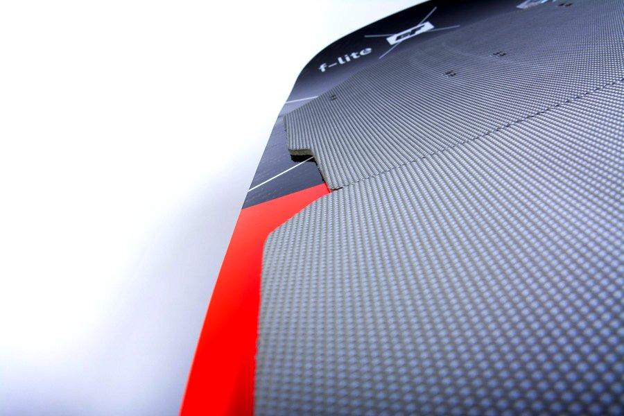 F-Lite Foilboard aufgewölbtes Deck